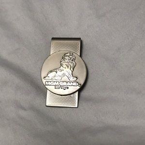 Mint Condition Stainless Steel MGM Grand $ Clip